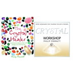 The Crystal Healer Book and Crystal Workshop cd special offer SAVE £5