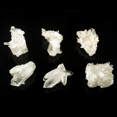 Quartz crystal cluster top quality