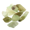 Calcite green crystals