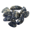 Siderite blue quartz tumble stone