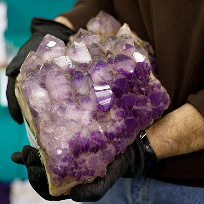 Amethyst crystal cluster extra large high quality cathedral crystal 10