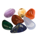 Deluxe crystal chakra set