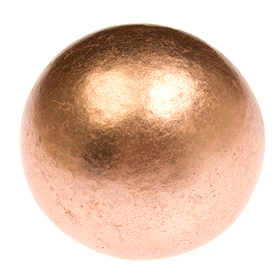 Copper ball copper sphere