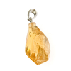 Citrine crystal freeform pendant