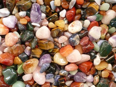 Treasure Chest - Tumble stone mix medium size