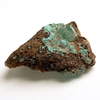 Smithsonite crystal green druse 03