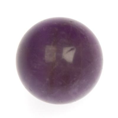 Amethyst crystal ball sphere 30mm