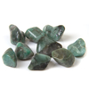 Emerald crystal tumble stone medium size