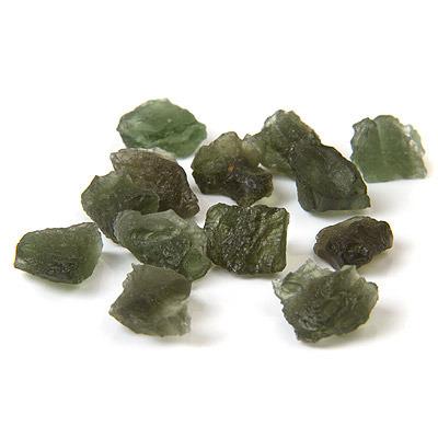 Moldavite - tektite meteorite - small