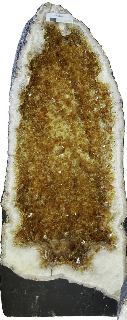 Citrine geode 03 citrine cave, citrine cathedral - The ...