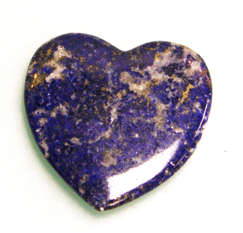 lapis lazuli crystal heart the crystal healer