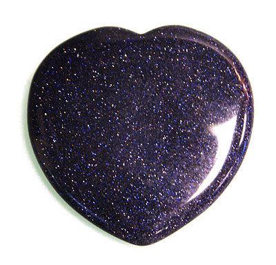 starstone crystal heart blue goldstone heart the crystal healer