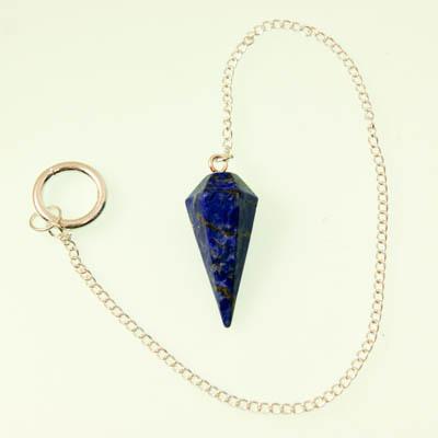 Lapis Lazuli Crystal Pendulum Dowser - The Crystal Healer