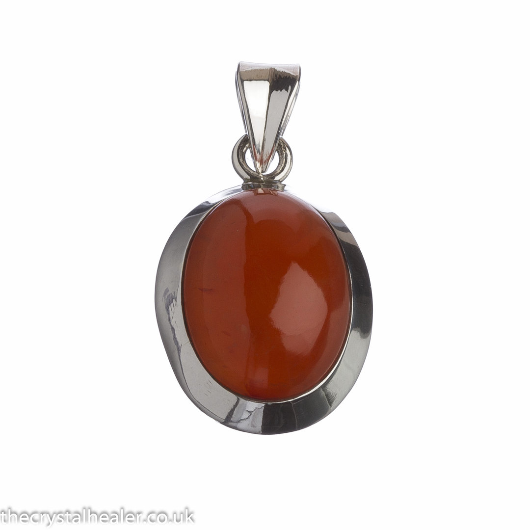 russet novica sterling oracle necklace carnelian pendant silver p