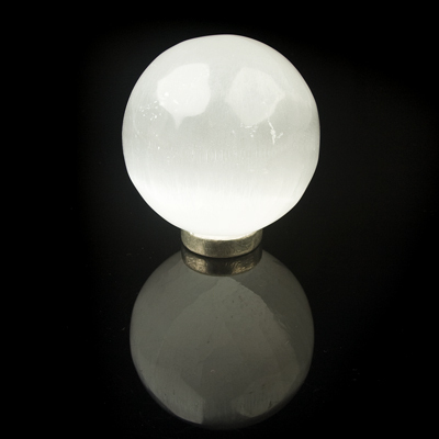 Selenite Sphere Minature