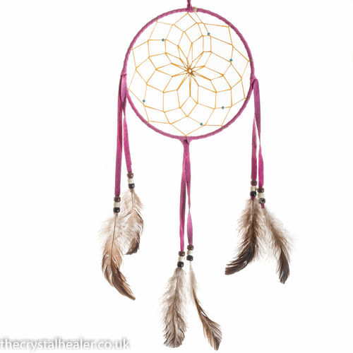 "6"" Dream Catcher Pink"