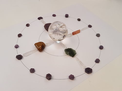 Crystal Grids Workshop with Philip Permutt Horam, East Sussex