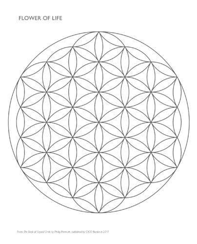 Crystal Grid Templates - FREE Download
